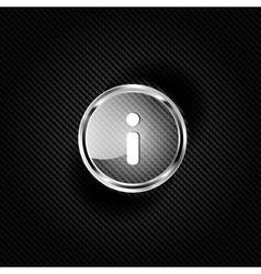 Information web icon vector image