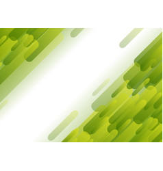 light green abstract tech geometric background vector image