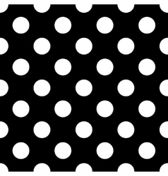 Polka dot white vector