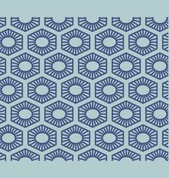 seamless geometric pattern classic chinese vector image