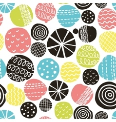 Simple scandinavian pattern vector image