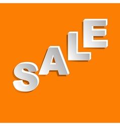 Sale lettering vector