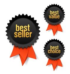 Best seller vector image vector image