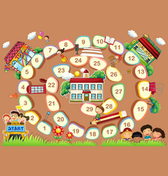 A board game vector