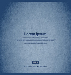background design texture of the old paper blue vector image