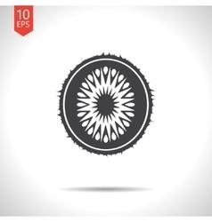 kiwi icon Eps10 vector image