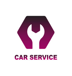 Logo for auto car repair service vector