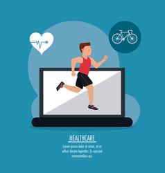 Medical technology gadget design vector