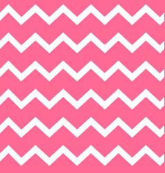 pink zig zag seamless pattern vector image