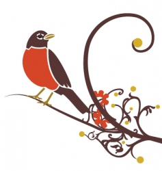Robin on branch vector