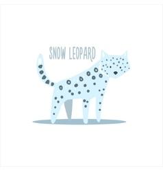 Snow Leopard vector