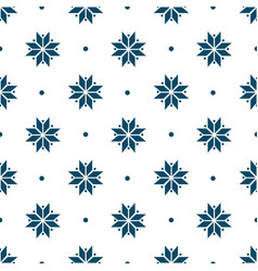 winter minimalist geometric seamless pattern with vector image