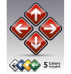 Arrow Directions icon vector image