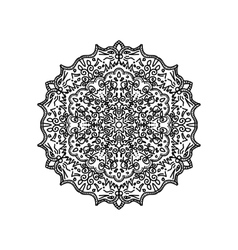Asian mandala background vector image vector image
