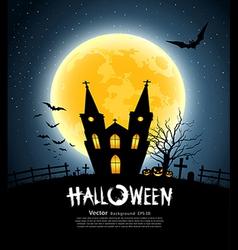 Halloween house party vector