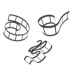 films set vector image