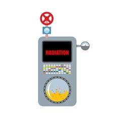 Dosimeter Instrument for measuring radiation vector image