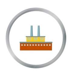 Factory icon of for web and vector