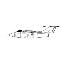 Grumman f10f jaguar vector