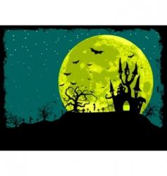 Halloween poster background vector