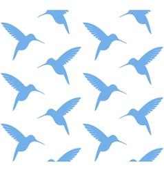 Hummingbird Pattern vector