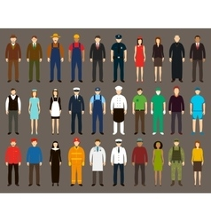 Profession People set vector image