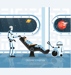 space tourism futurology vector image