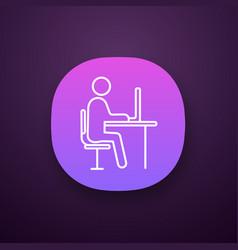 workplace app icon vector image