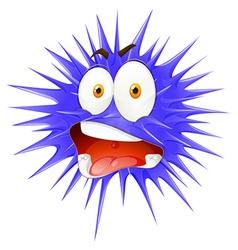 Thorny ball with face vector