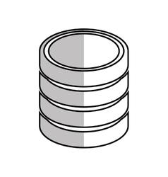Database hard disk host system vector