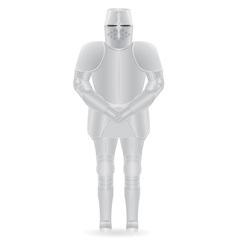knight armor 01 vector image
