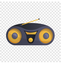 modern boom box icon cartoon style vector image