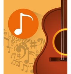 Music acoustic instrument vector