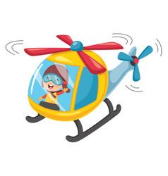 Of kids transportation vector