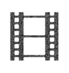 reel of film sign black icon from many vector image