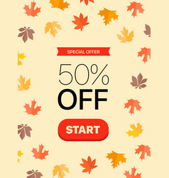 special offer concept vector image