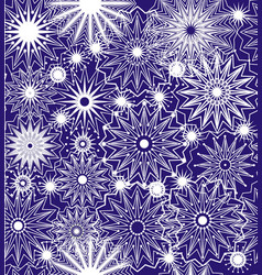 abstract geometry of lines and stars vector image vector image