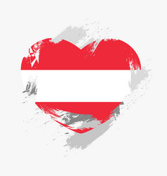 flag of austria vector image vector image