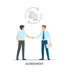 Agreement between people on vector