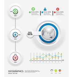 infographics set and Information Graphics vector image vector image