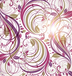 Purple Floral Background vector
