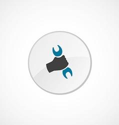 Repair icon 2 colored vector