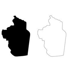 riyadh region map vector image