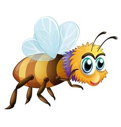 A big fat bee vector image