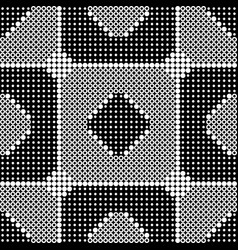 abstract monochrome seamless background vector image