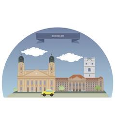 Debrecen vector image vector image