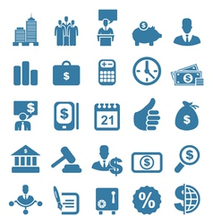 Icon business7 vector image vector image