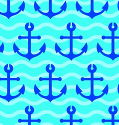 sea anchors vector image