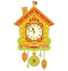 Cuckoo Clock vector image vector image