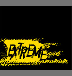 extreme grunge background vector image vector image